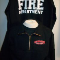 CFD Job Shirt Navy 1/4 Zip