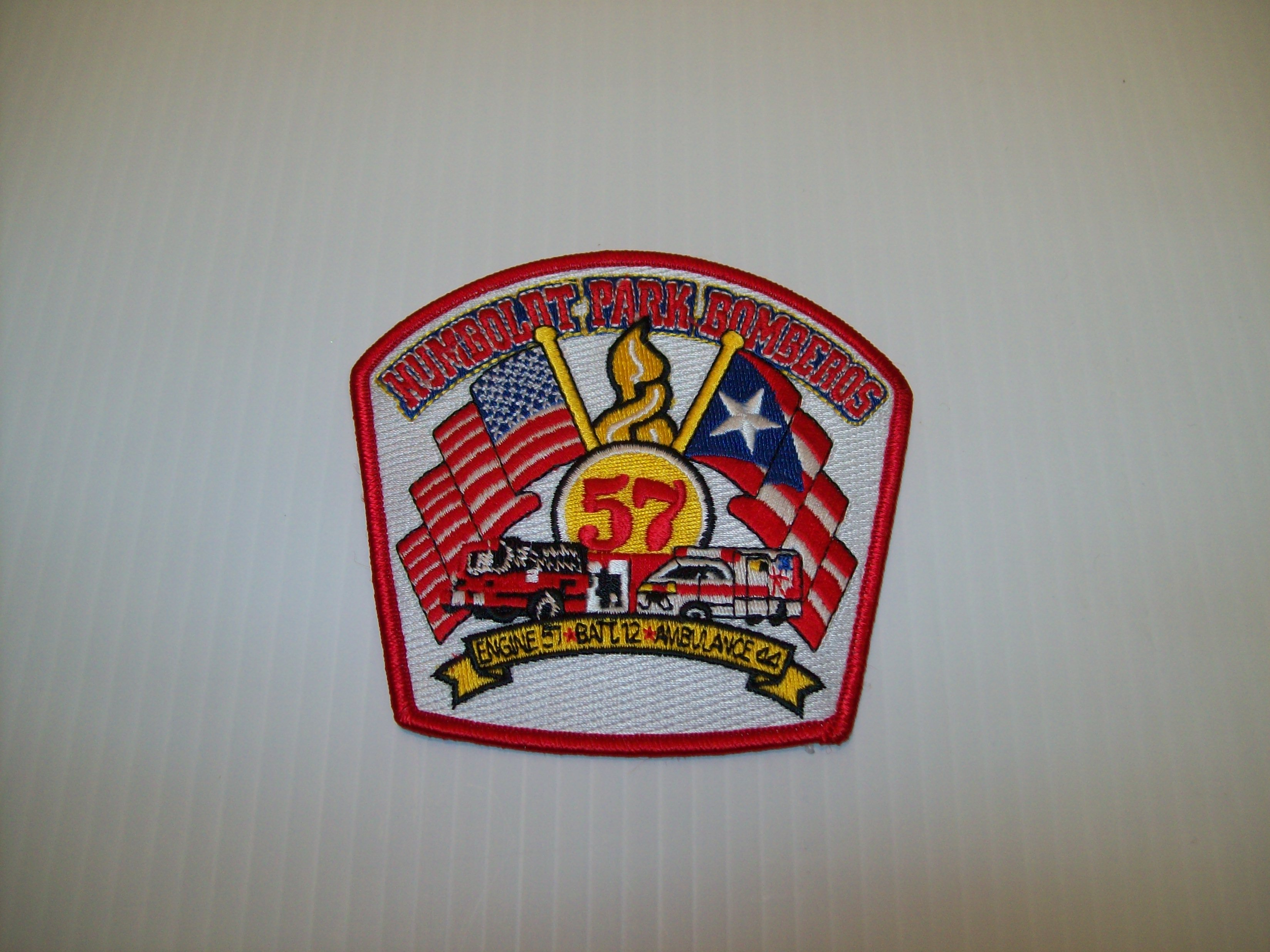 Chicago fire department engine 57 patch shraders goods chicago fire department engine 57 patch biocorpaavc Images