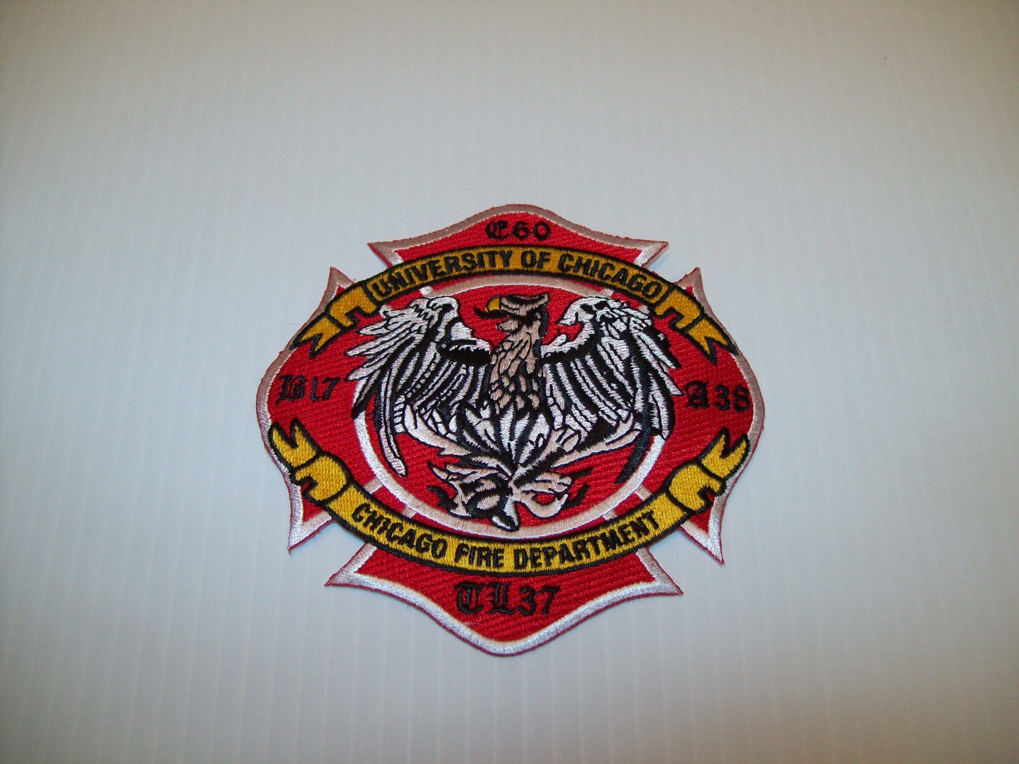 Chicago fire department engine 60 patch shraders goods chicago fire department engine 60 patch biocorpaavc Images