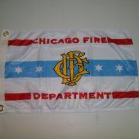 Chicago Fire Dept Flag 22″ x 36″