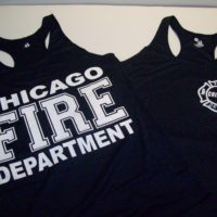 Ladies CFD Racerback Tank Top