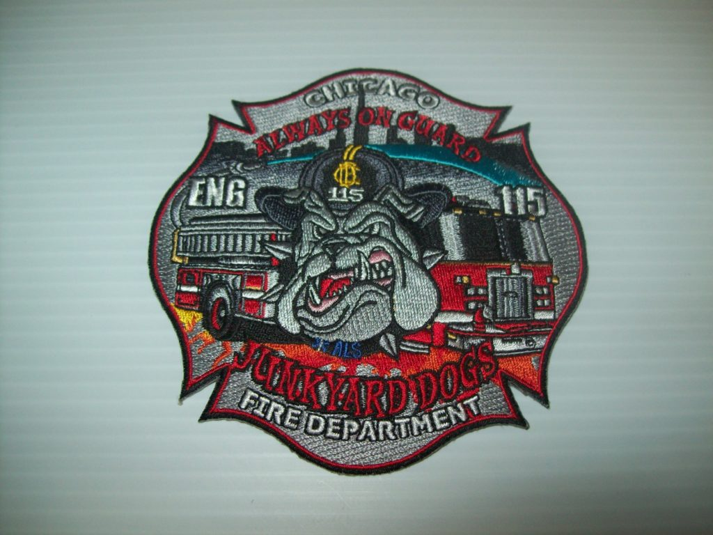 Chicago fire department eng 115 patch shraders goods chicago fire department eng 115 patch biocorpaavc Images