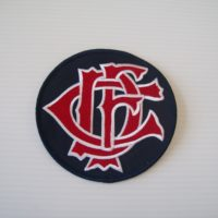 CFD Letter Nest Patch Navy 4.5″