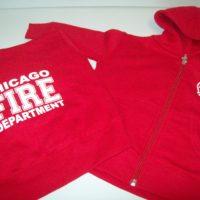 CFD Infant Zip Hoodie Red