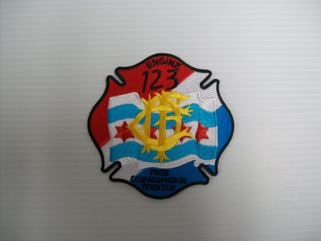 Chicago fire department engine 123 patch shraders goods chicago fire department engine 123 patch biocorpaavc Images